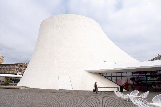 Que Ver en Le Havre Volcan Niemeyer Exterior