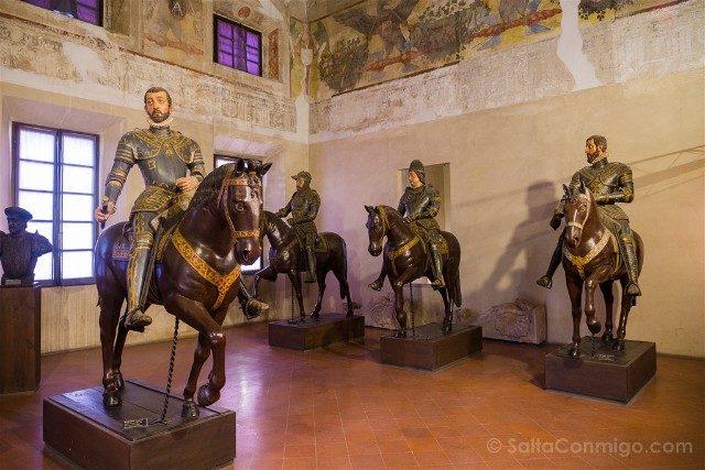 Que Ver en Sabbioneta Palazzo Ducale Sala Aguilas