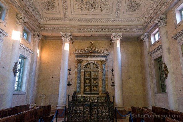 Que Ver en Sabbioneta Sinagoga