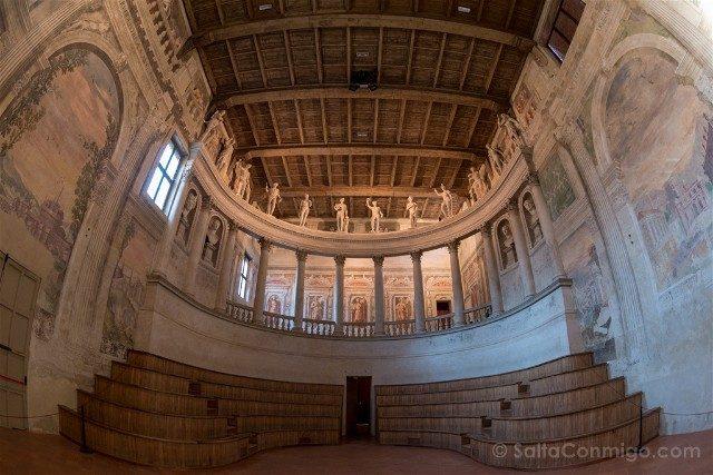 Que Ver en Sabbioneta Teatro Antica Olimpico