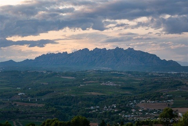 Alt Penedes Gelida Vista Montserrat Castillo