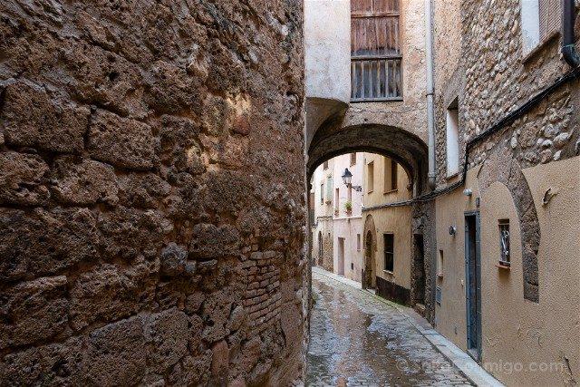 Alt Penedes Sant Pere de Riudebitlles Calle