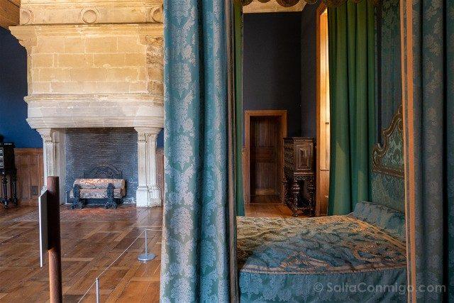 Castillo de Azay-le-Rideau Habitacion Rey