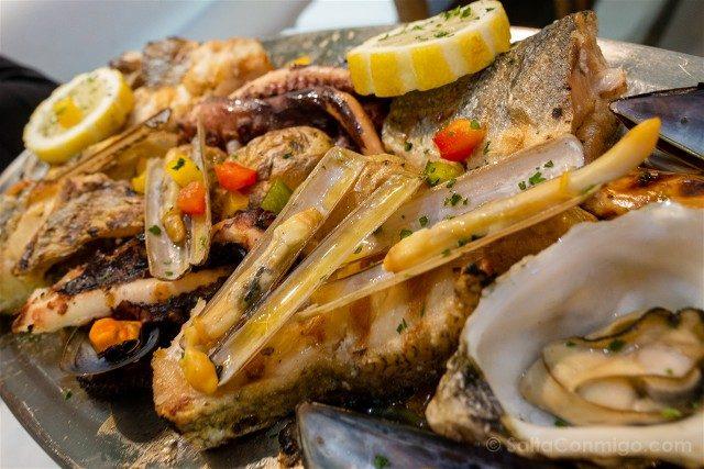 Donde Comer en Cascais Fora Pe Mixto Pez Marisco