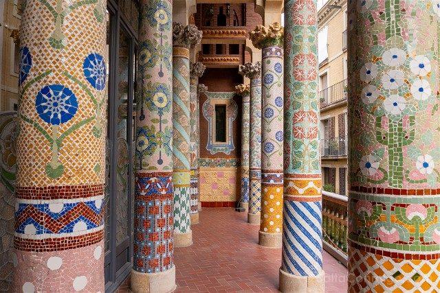 Edificios Modernistas de Barcelona Palau Musica Catalana Tribuna