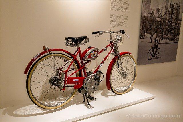 Museo Ducati Motor Valley Bici Motor