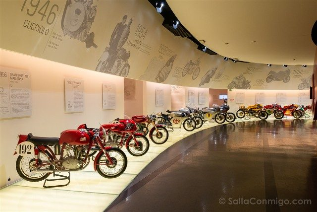Museo Ducati Motor Valley Modelos Clasicos