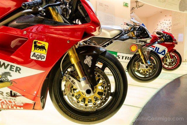 Museo Ducati Motor Valley Modelos Competicion