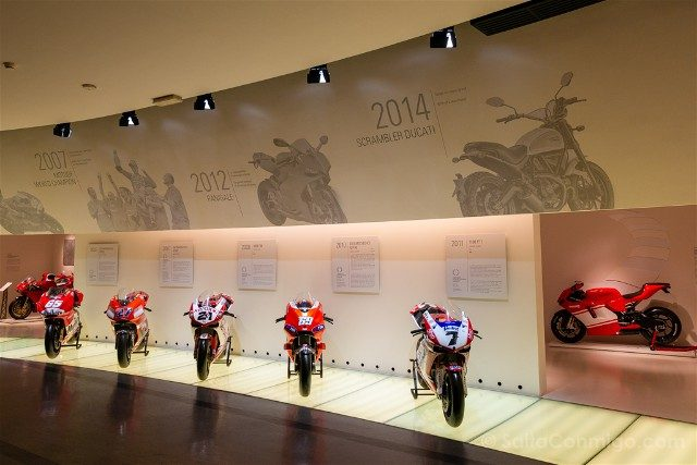 Museo Ducati Motor Valley Superbikes
