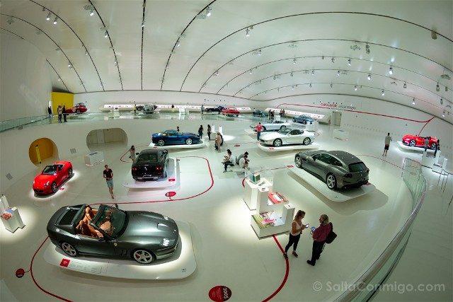Museo Enzo Ferrari Motor Valley Exposiciones
