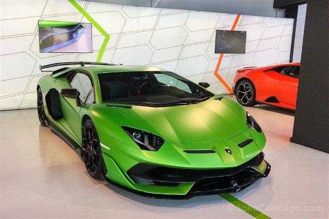 Museo Lamborghini Motor Valley Aventador