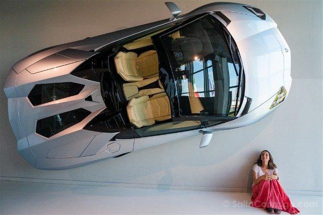 Museo Lamborghini Motor Valley Pared