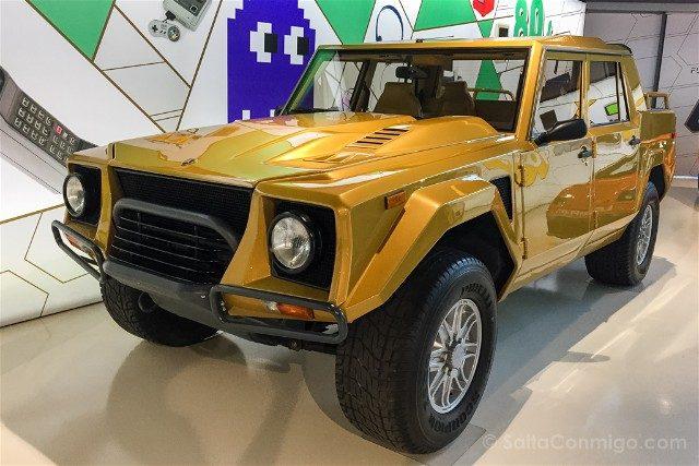 Museo Lamborghini Motor Valley Rambo Lambo