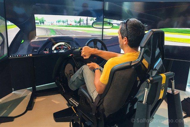 Museo Lamborghini Motor Valley Simulador