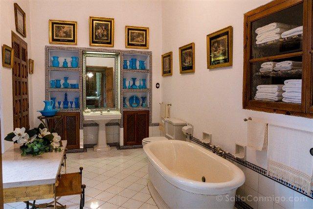 Palacio de Viana Cordoba Interior Bano Marquesa