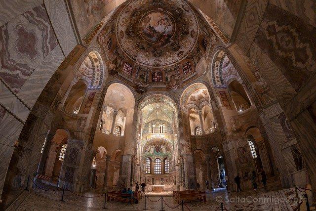 Que Ver en Ravenna Basílica San Vital Ojo Pez