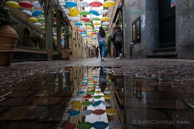 Que Ver en Ravenna Calle Paraguas