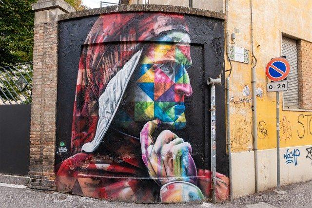 Que Ver en Ravenna Grafiti Kobra