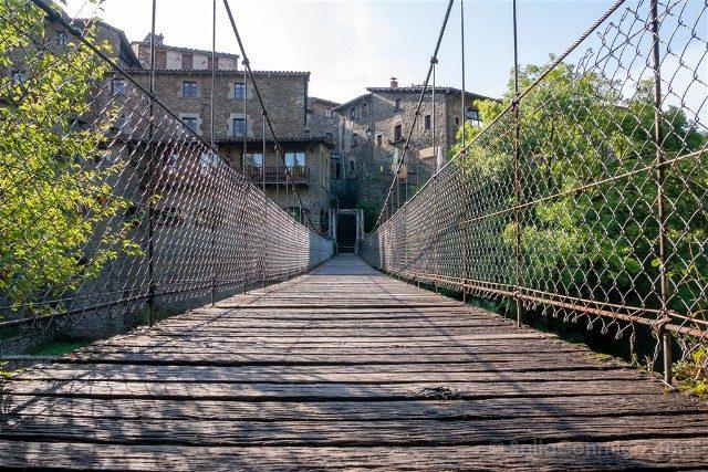 Que Ver en Rupit Puente Colgante