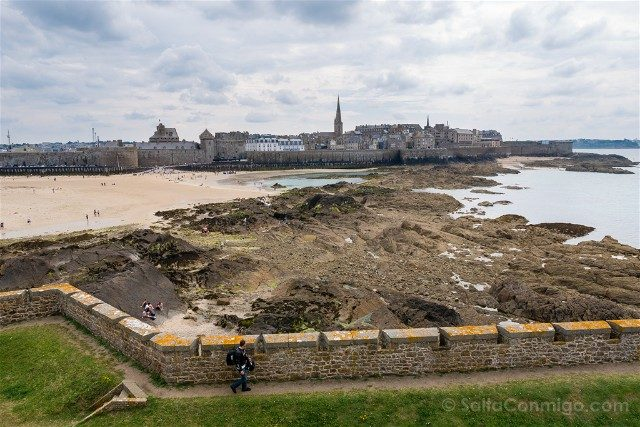 Que Ver en Saint Malo Fort National Vista