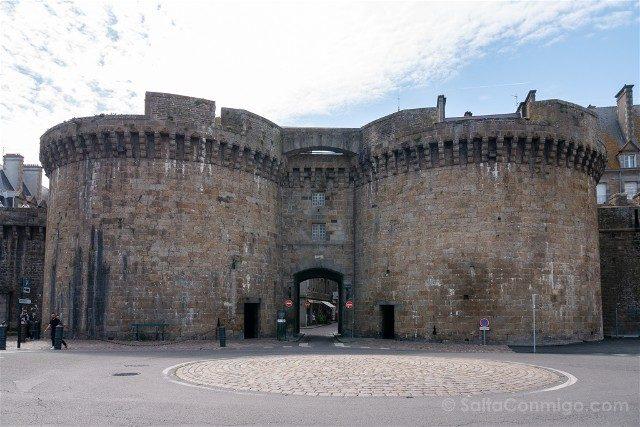 Que Ver en Saint-Malo Muralla Grand-Porte