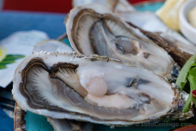 Donde Comer en Saint-Malo Parame Les Charmettes Ostras