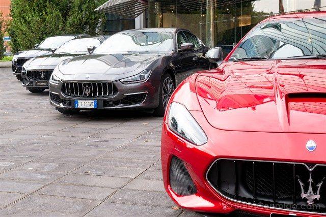 Showroom Maserati Motor Valley Modelos Calle