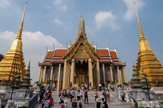 Bangkok Complejo Gran Palacio Pagoda