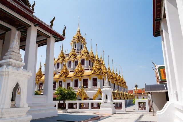 Bangkok Wat Ratchanatdaram