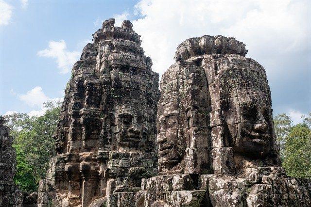 Camboya Templos Angkor Bayon Caras