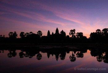 Camboya Templos Angkor Wat Amanecer