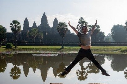 Camboya Templos Angkor Wat Salto