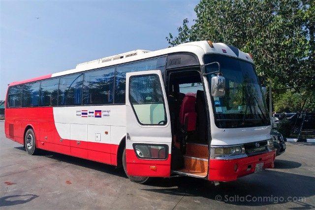 De Bangkok a Siem Reap Autobus