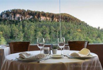 Donde Comer en la Provincia de Barcelona Can Rafel Vista