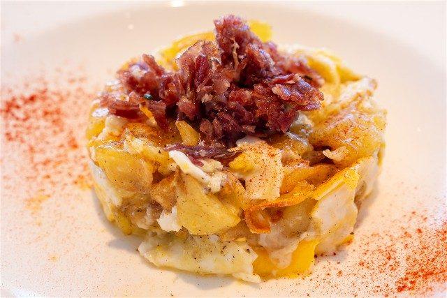 Donde Comer en la Provincia de Barcelona Solraig Huevos Rotos