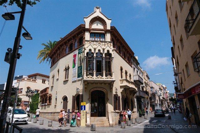 Modernismo Provincia Barcelona Canet de Mar Casa Museu Domenech Montaner Exterior