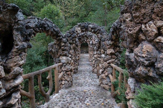 Modernismo Provincia Barcelona La Pobla Lillet Jardines Artigas Puente