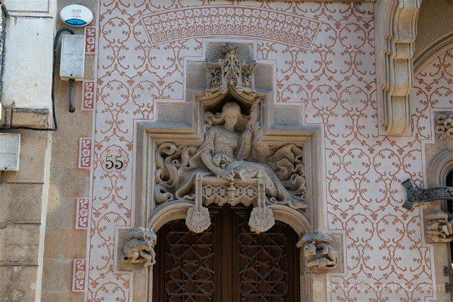 Modernismo Provincia Barcelona Mataro Casa Coll Regas Puerta Entrada