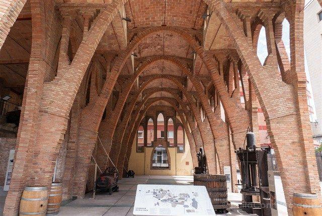 Modernismo Provincia Barcelona Sant Cugat Celler