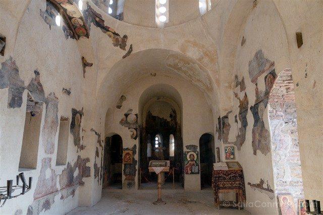 Que Ver en Bulgaria Fortaleza Asen Iglesia Interior