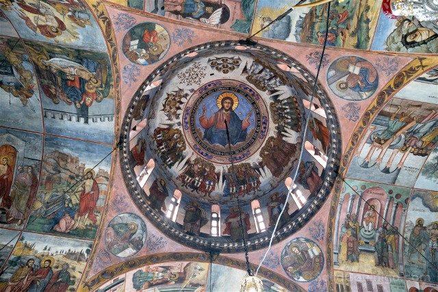 Que Ver en Bulgaria Monasterio Bachkovo Iglesia Interior