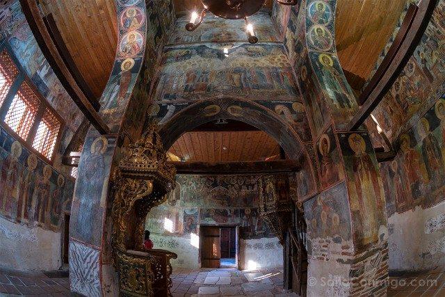 Que Ver en Bulgaria Nesebar Iglesia San Esteban Interior