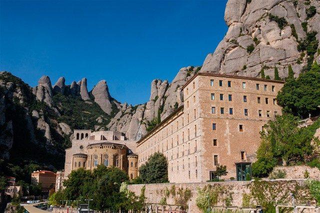Monasterio de Montserrat Acceso