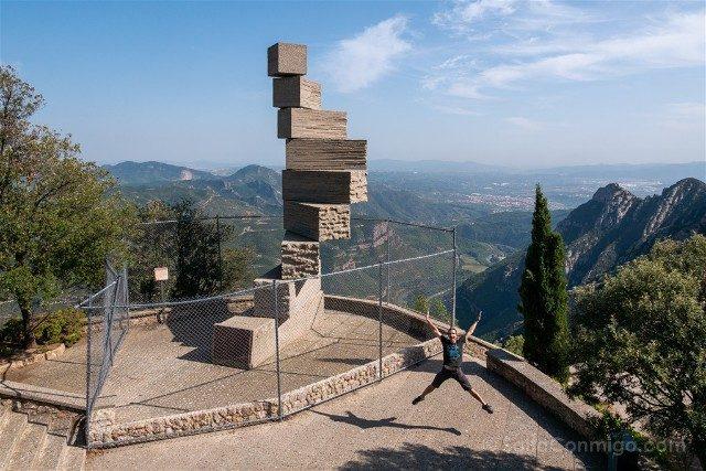 Monasterio de Montserrat Mirador Salto