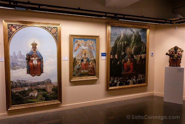 Monasterio de Montserrat Museo Virgenes