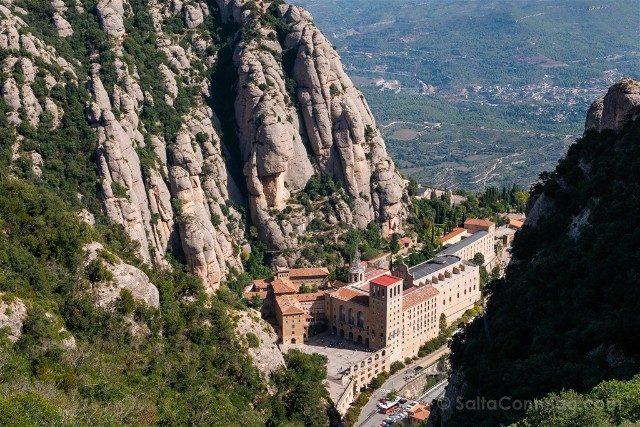 Monasterio de Montserrat Vista Funicular