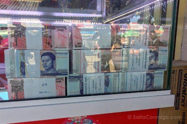 Sorpresas Camboya Billetes
