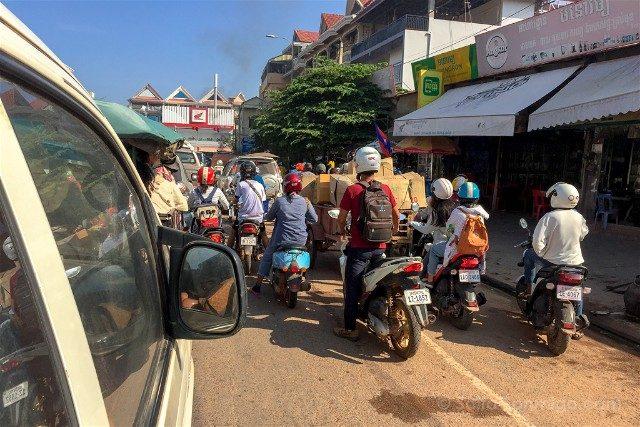Sorpresas Camboya Caos Circulacion