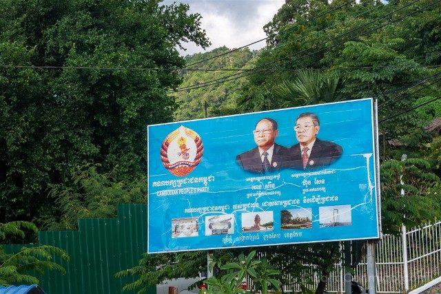 Sorpresas Camboya Cartel Politico