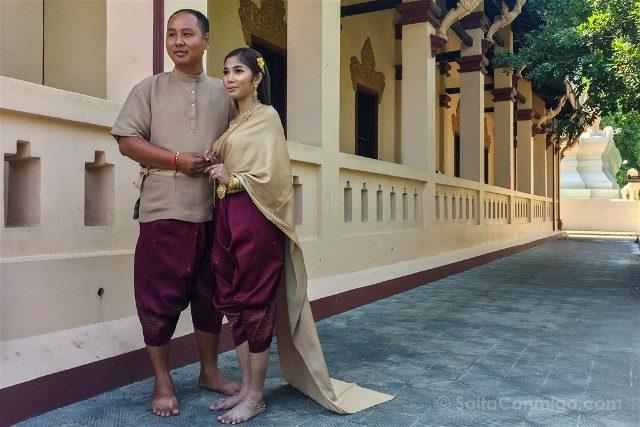Sorpresas Camboya Novios Vestidos